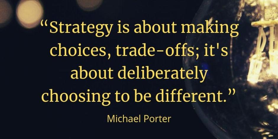 Quotes to build a strategy.