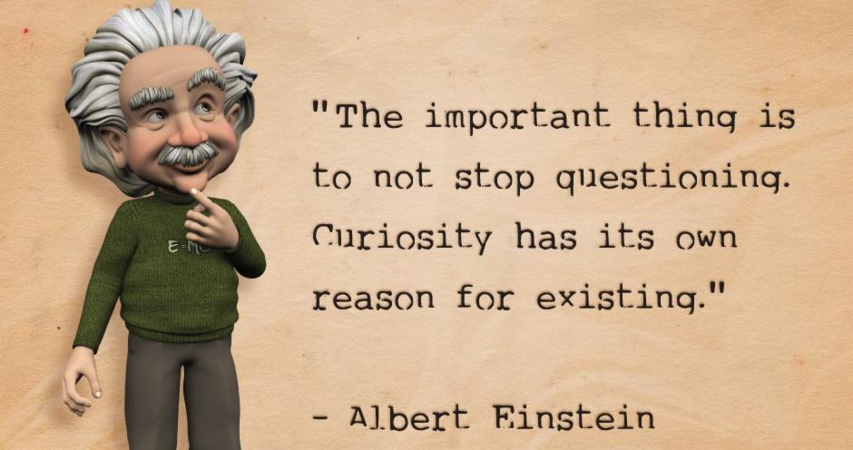 Albert Einstein quotes with Albert Einstein image