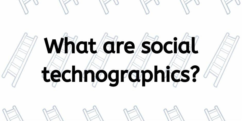 What are social technographics?